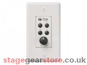 TOA ZM-9002 M-9000 Series Remote Panel - Four Button & V/C