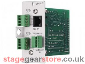 TOA ZP-001T M-9000 Series Telephone Zone Paging Module