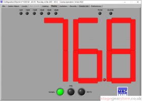 MRC Audio, EQ Limit SCL, Control & Setup Software, StageGear Ltd
