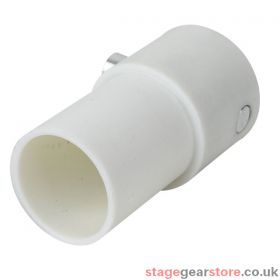 Wentex 4W connector complete f.45,7mm tube white