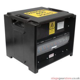 PCE MERZ Distribution Box 63A 3PH RCBO (A80)