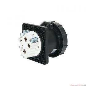 PCE 125A 415V 3P+N+E Panel Socket (3455-7)