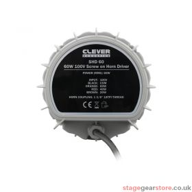 Clever Acoustics SHD 60 60W 100V Screw On Horn Driver