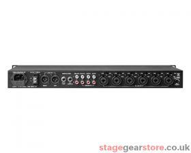 Denon DN312X, 12ch, 6-Mono/3-Stereo i/p Rack Mount Audio Mixer 1U