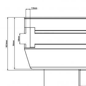 Global Truss GT Stage Deck 1 x 0.5m Wood Stage Platform