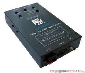 Ampetronic ILD100-TS Loop Driver, Tieclip Microphone c/w scart l
