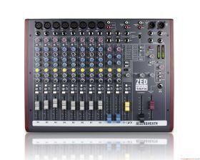 Allen & Heath ZED60-14FX 8 Mic/Line Inputs, 2 Stereos, 60mm faders, USB, FX