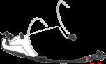 AKG C555L - Head worn microphone
